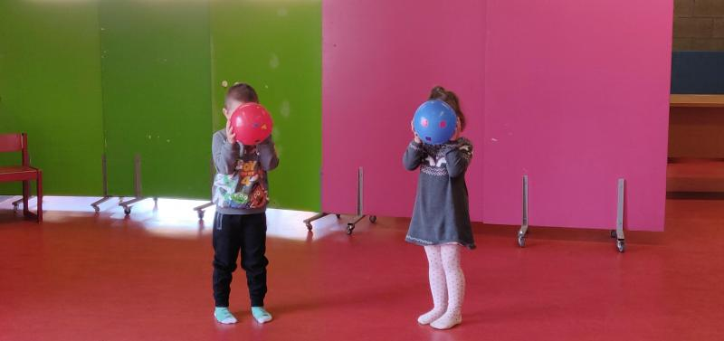Photo atelier ponctuel Autour du spectacle Ballon Bandit