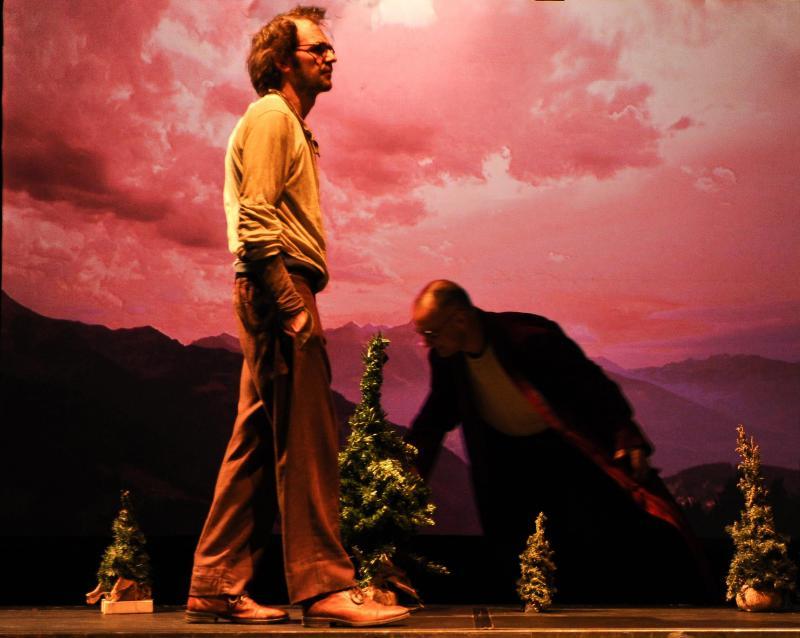 L'homme qui marche, théâtre jeune public